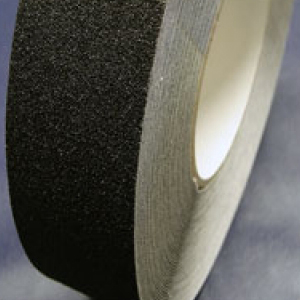Anti Non Slip Skid Tape Self Adhesive Black 50mm x 18m