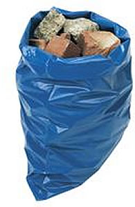 "Rubble Builders Aggregate Sacks 20"" X 30"" Extra Heavy Duty Blue"
