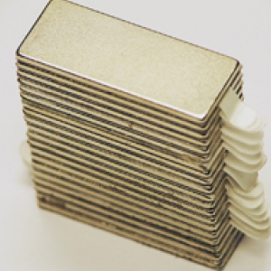 Reclosable Neodymium Magnets 25mm x 10mm x 1mm (100 Pairs)