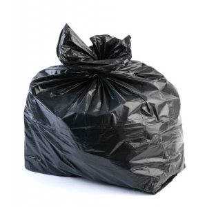 "Refuse Rubbish Waste Sacks Black Bin Bags 18"" x 29"" x 39"" 300g Heavy Duty"