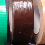 "Cloth Tape Adhesive Dark Brown 1"" x 45m"