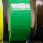 "Cloth Tape Adhesive Light Green 4"" x 45m"