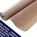 Corrugated Paper Roll 1500mm x 75m