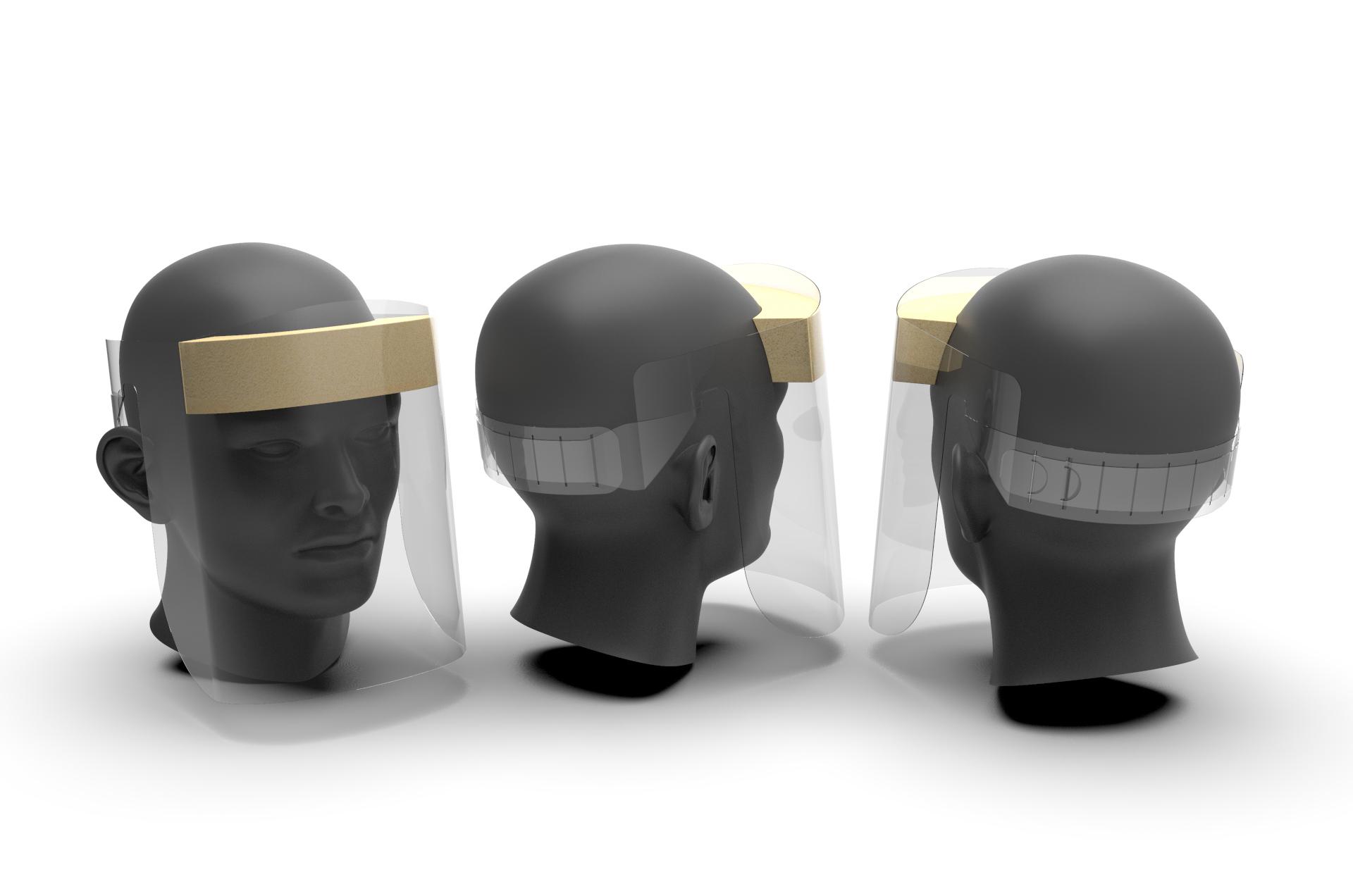 Medical Protective Face Shield Visor V2
