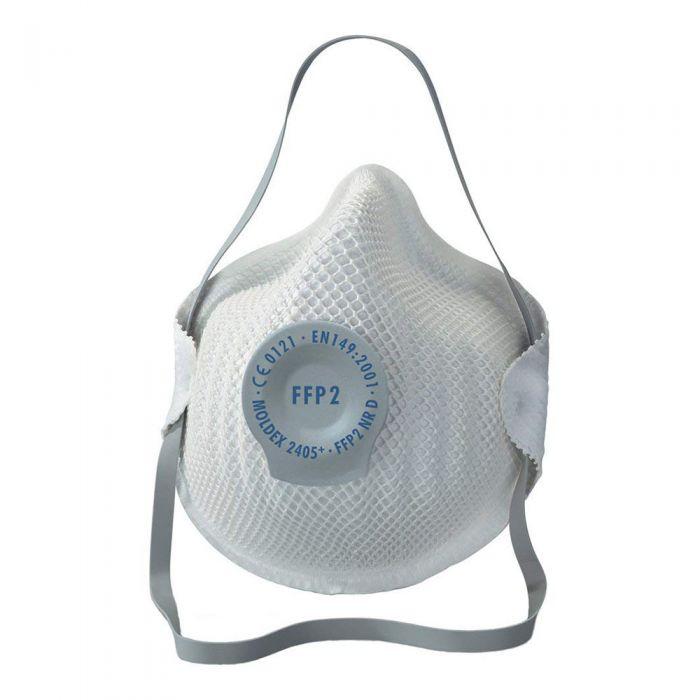 Flu Cold Virus N95 Valved Particulate Respirator (DRP2V) FFP2 (5 Masks)