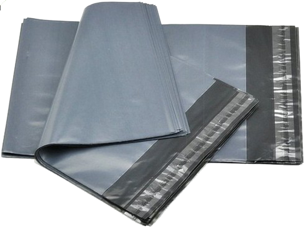 Grey Polythene Mailers 425mm x 600mm