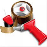 Hand Carton Sealer Tape Gun Dispenser Metal With Clutch 48mm