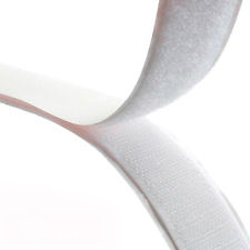 Rip 'n' Grip Tape HOOK White High Tack Rubber Adhesive 100mm x 25m