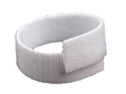 Rip 'n' Grip Strap Back to White Black 16mm x 25m