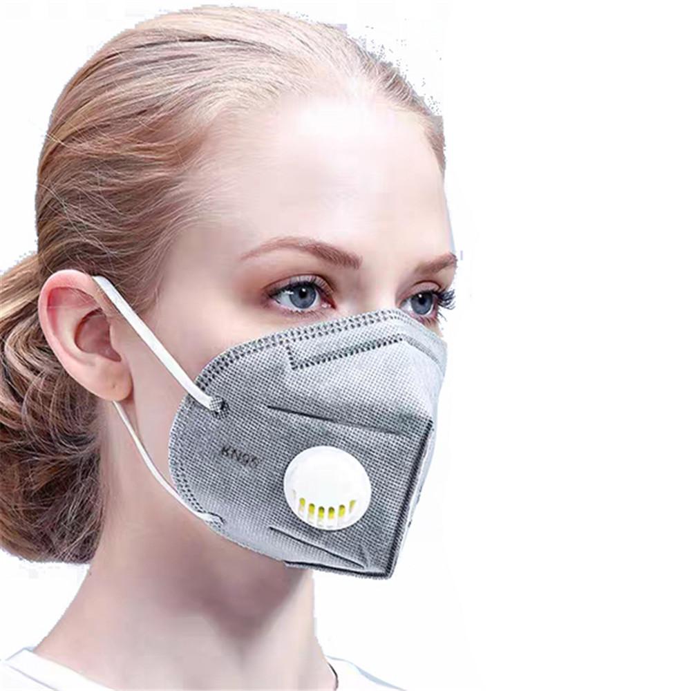 Face Mask Respirator KN95 (VALVED) (Single Mask)
