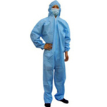 Polypropylene Coveralls Blue Extra Large