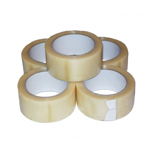 VINYL PVC Parcel Tape Clear 48mm x 66m