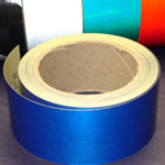 Reflective Tape Self Adhesive Blue 25mm x 10m