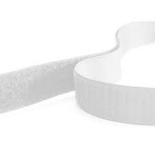 Rip 'n' Grip Tape LOOP White Sew-on 25mm x 25m