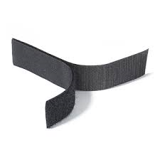 Rip 'n' Grip Tape LOOP Black Sew-on 38mm x 25m