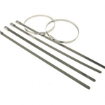 Stainless Steel Cable Ties (Pack of 100) 7.9mm x 520mm
