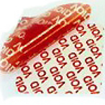 TAMPERSAFE™ Tamper Evident Security Labels Red