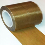 Teflon PTFE High Temperature Non Stick Tape 25mm x 0.13mm x 10m